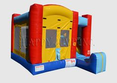 Inflatable Interactive Games: A Happy Jump Inc Magic Castle Fit For Any Kiddie Party