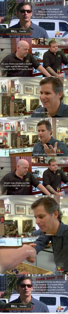Every episode of Pawn Stars!