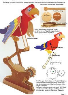 Werken mit Holz: Zahnradgetriebe