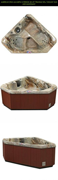 American Spas AM-628TM 2-Person 28-Jet Triangle Spa, Tuscany Sun and Mahogany #hot #tubs #racing #drone #shopping #tech #technology #products #gadgets #2 #fpv #camera #person #kit #plans #parts