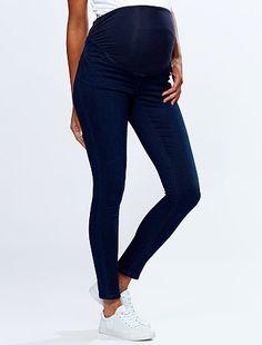 890f8c5a8d1 Jegging de grossesse effet denim blue black Grossesse - Kiabi Black Jeans