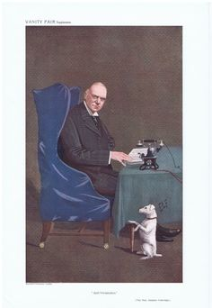Date:  27-Jul-1910   The Vanity Fair Caricature of    The Hon. Stephen  Coleridge  With the caption of  :  Anti-Vivisection  By the artist:  ELF
