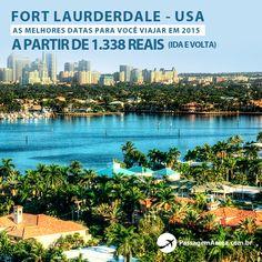 Promoção de passagem aérea para Fort Lauderdale – Estados Unidos, com saída de de três cidades e preços a partir de R$1338.  https://www.passagemaerea.com.br/promocional-fort-lauderdale-2015.html  #estadosunidos #passagemaerea