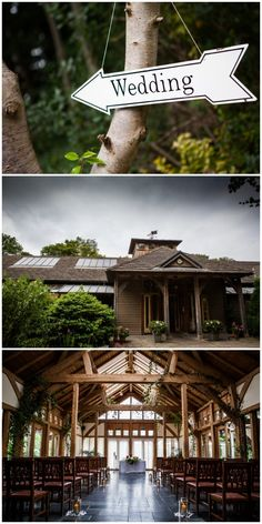 A special wedding in a green oak frame building