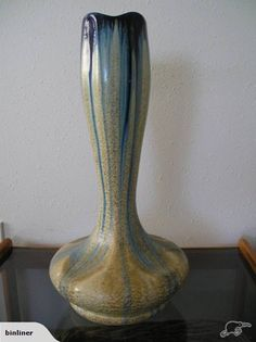 Fa'i'encerie de Thulin art deco Vase   Trade Me