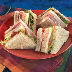 I order a club sandwich and I'm not even a member. I don't know how I get away with it!