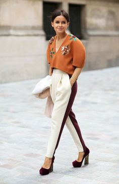 What is she wearing? Doesn't matter she looks chic | Community Post: Why Miroslava Duma Is Too Chic For You