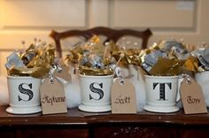 Candy-Filled Mugs | 42 Wedding Favors Your Guests Will Actually Want
