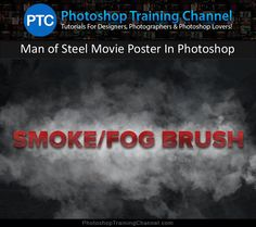 Photoshop tutorial showing how to create a smoke/fog brush using a photo of clouds. Photoshop tips. Photoshop Art, Photoshop For Photographers, Photoshop Design, Photoshop Photography, Photoshop Tutorial, Photoshop Actions, Photography Tips, Portrait Photography, Photoshop Training
