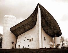 Le Corbusier, Ronchamp- Architecture | Tumblr