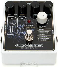 electro-harmonix B9 Organ Machine | Sweetwater.com