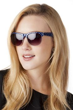 1b02278456 Fellini Polka Dot Sunglasses francesca s