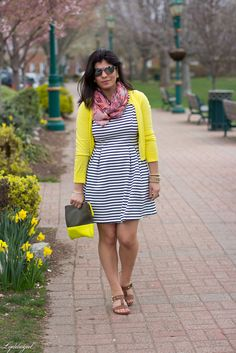 Another striped dress in the closet