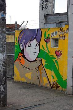 Street art | Mural (Saúde, São Paulo, Brazil, 2010) by Nagata