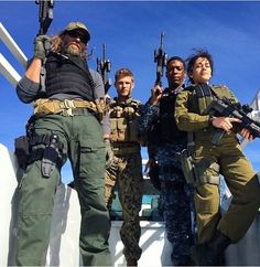 Behind the scenes of season two of The Last Ship