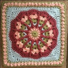 Fantastic! Mystery Afghan Square - Complete Pattern - Julie Yeager Designs