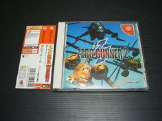 ZERO GUNNER 2 Sega Dreamcast DC Import Japan 861