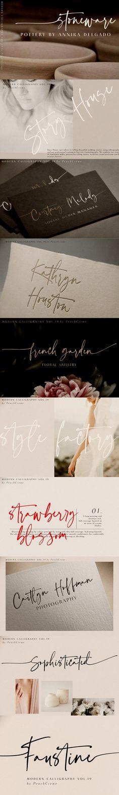Faustine //Modern Script