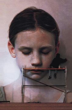 Mural painting by Gottfried Helnwein