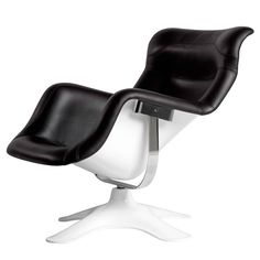 Karuselli Lounge Chair Negro - Outlet