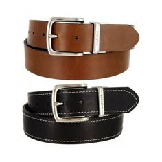 Tommy Hilfiger Men's reversible leather Jean Belt #TommyHilfiger
