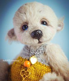 #artistteddy #teddy #teddybears Needle Felting, Teddy Bear, Toys, Artist, Animals, Activity Toys, Animales, Animaux, Clearance Toys
