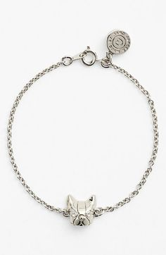 MARC BY MARC JACOBS 'Dynamite - Olive' Dog Line Bracelet available at #Nordstrom