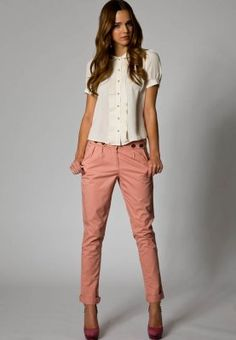 Blush chinos from mint&berry. I really like chinos, cuz they make me look taller