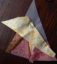 Couture sur papier / Paper foundation piecing - Quilting, Patchwork et Appliqué