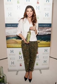 Shinning bright:Also bringing some sophisticated style to the event was Ali Landry, who l...