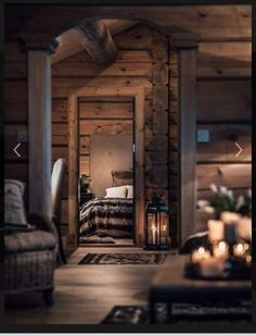 Log Home Decorating Gorgeous to breath taking ideas to produce that super amazing rustic area. log home decor ideas styling example id generated on 20190127 Cabin Homes, Cabin Decor, House Design, Cozy House, Log Home Decorating, House Interior, Cabin Living, Log Homes, Cabin Interiors