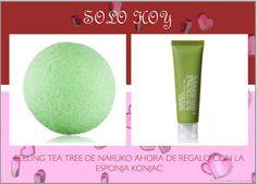 Solo hasta las 12 de la noche.    PEELING TEA TREE DE NARUKO CON la RECIEN LLEGADA KONJAC SPONGE DE REGALO!!! No lo dejes escapar  Tendrás una piel perfecta!!!    Os pasamos el link directo:    http://www.maquillajemagiccoast.com/tea-tree-oil-out-peeling-gel-120-ml-1