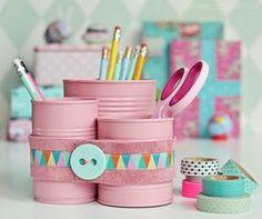 Diy Paper Leaves - Diy Baby - - Diy Scrunchie With Ponytail - Diy Table Pallet Diy Crafts For Teen Girls, Diy For Teens, Diy For Kids, Tin Can Crafts, Diy And Crafts, Diy Upcycling, Upcycle, Diy Beauty Blender, Diy Desk