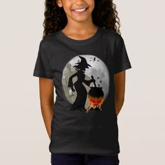 Funny Spooky Scary Witch Halloween Party T-shirt - birthday gifts party celebration custom gift ideas diy
