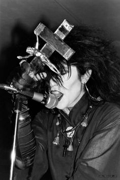 Christian Death's Rozz Williams. May he be in peace.