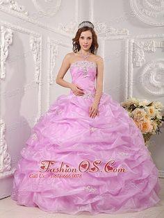 Rose Pink Quinceanera Dress