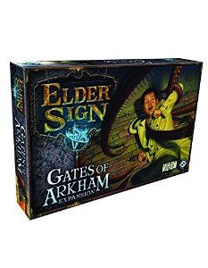 Amazon.com: Elder Sign: Gates of Arkham Expansion: Fantasy Flight: Toys & Games