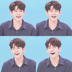 He is so cute ❤ Ong Seung Woo, My Destiny, Kim Jaehwan, Ha Sungwoon, Flower Boys, K Idol, Seong, 3 In One, Love At First Sight