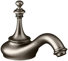 Kohler K-72758 Artifacts Widespread Bathroom Faucet Less Handles - Free Metal Po Vi