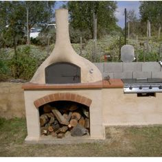 ...pizza oven...