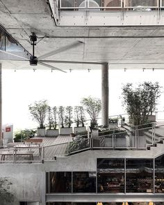The Commons, an open-air space filled with artisan cafes and eateries #bangkok #thailand