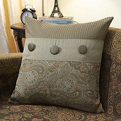 Traditional Cotton Jacquard Decorative Pillow Cover