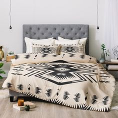 Buy Duvet Cover with Colorado Canvas designed by Holli Zollinger. One of many amazing home décor accessories items available at Deny Designs. Western Bedroom Decor, Western Rooms, Rustic Bedroom Design, Home Decor Bedroom, Western Bedding, Rustic Western Decor, Bedroom Ideas, Southwestern Bedroom, Southwest Decor