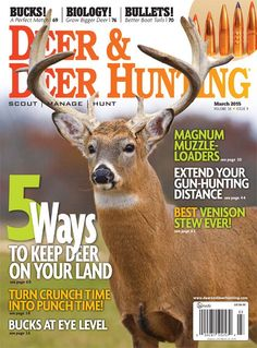 Deer & Deer Hunting Magazine: March 2015 | ShopDeerHunting