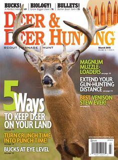 Deer & Deer Hunting Magazine: March 2015   ShopDeerHunting
