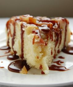 Warm Pear Ginger Upside Down Cake