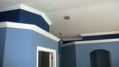 View our work - Crown Molding - Painting - Floors Crown Molding, Floors, Painting, Crown Moldings, Home Tiles, Flats, Painting Art, Paintings, Paint