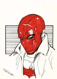 Red Hood sketch by dark gates