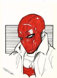 Red Hood sketch by dark gates
