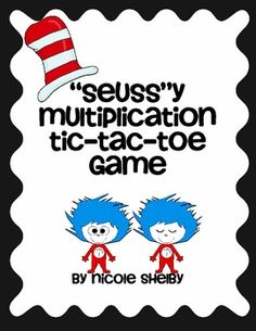 Dr. Seuss Multiplication Game - love!